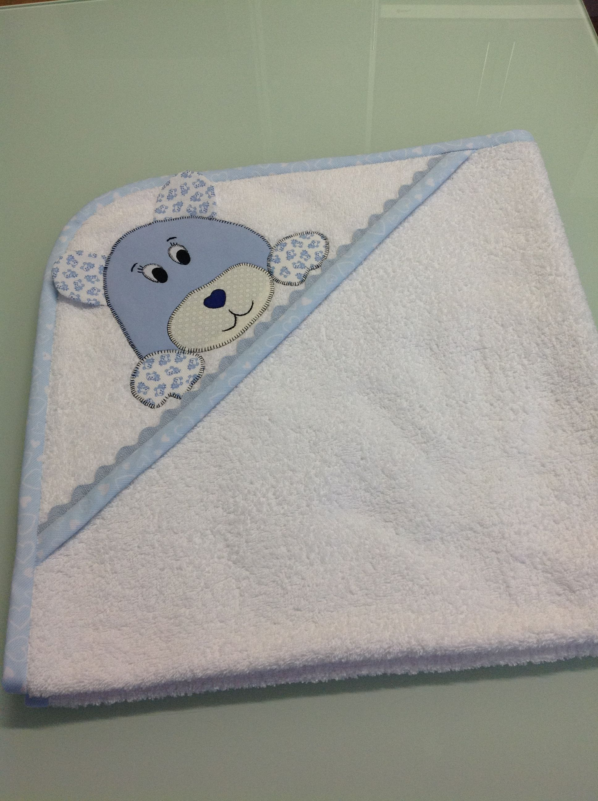 aplique toallas bebes buscar con google projets essayer baby towel baby sewing et baby. Black Bedroom Furniture Sets. Home Design Ideas