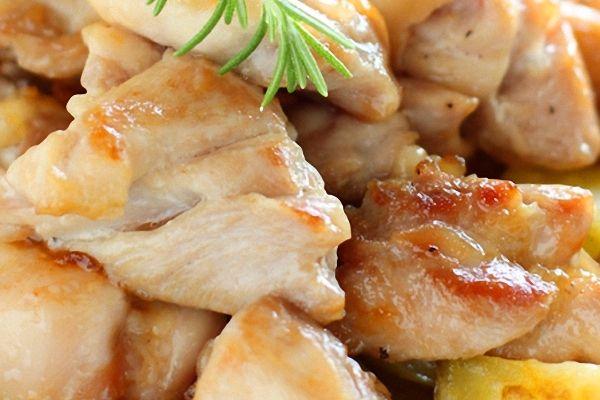 Pechugas De Pollo Al Limón En Bolsa De Asar Recetín Receta Pollo Pollo Guisado A La Cerveza Pechuga De Pollo