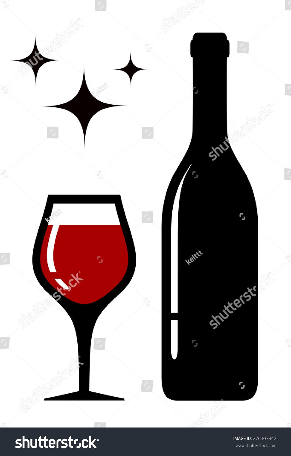 Image Result For Wine Glass Silhouette Wine Bottle Glass Wine Glass Wine