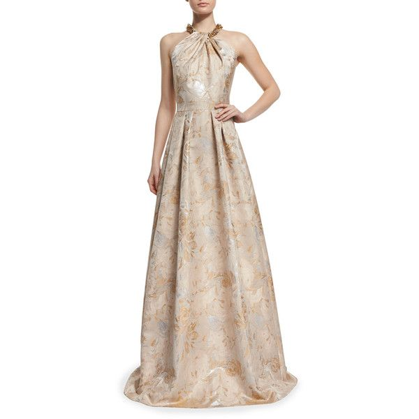 Jacquard Ball Gown