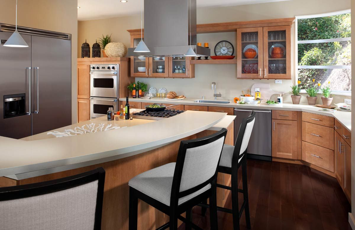 kitchen waypoint living spaces | style 420t in maple spice - like