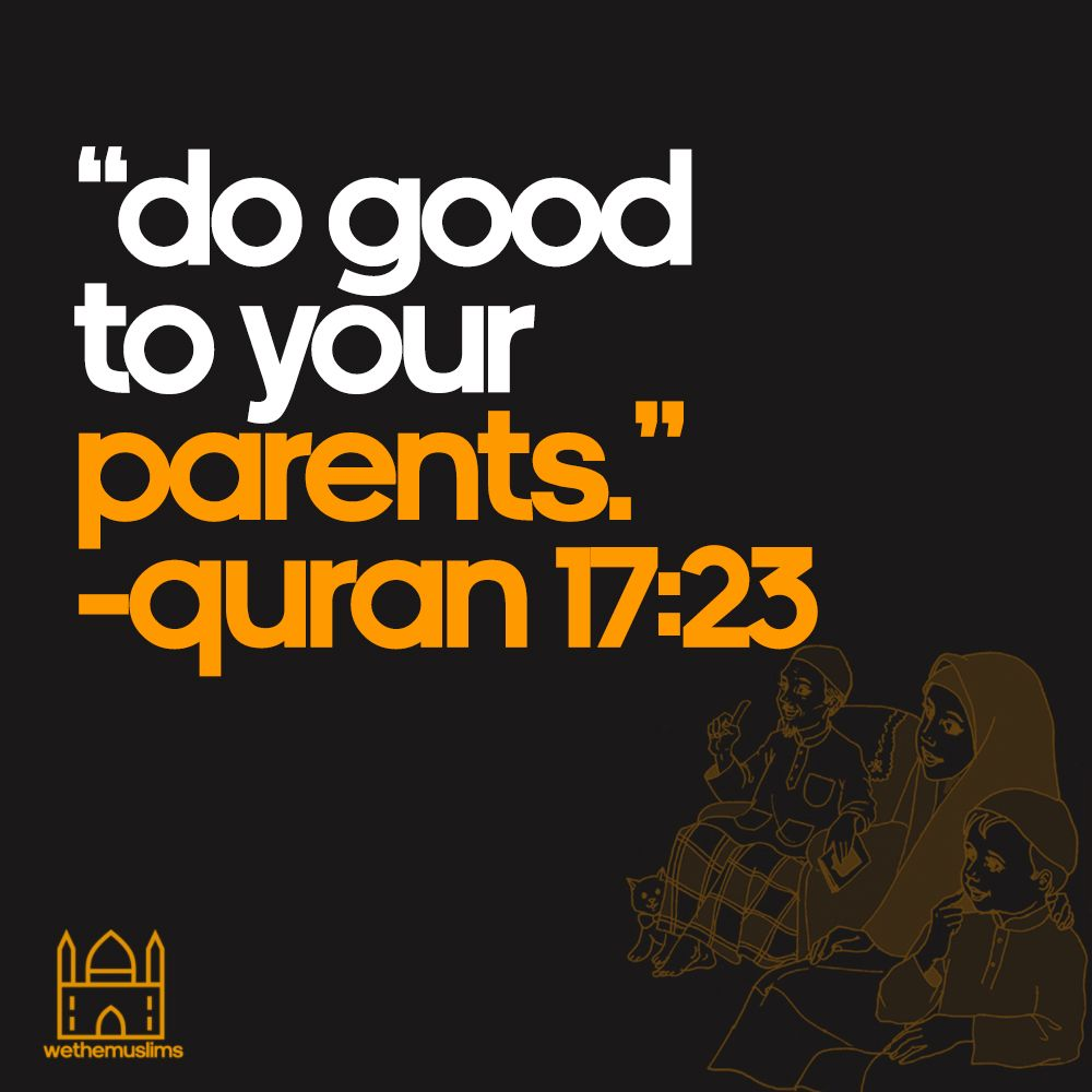 We should treat our parents well! ❤️