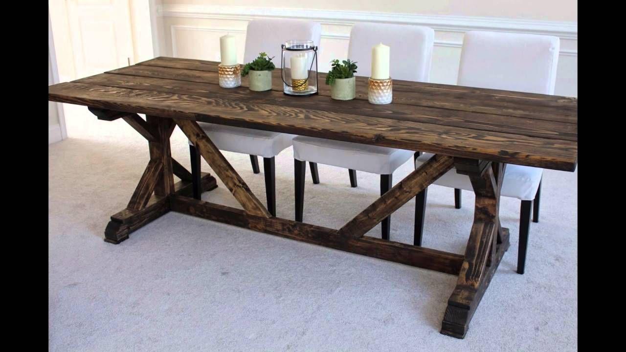 Cute Farmhouse Table Plans Ideas