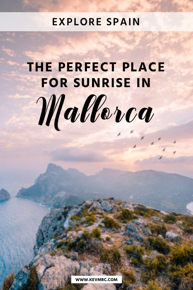 The BEST secret spot for sunrise in Mallorca #traveltoportugal