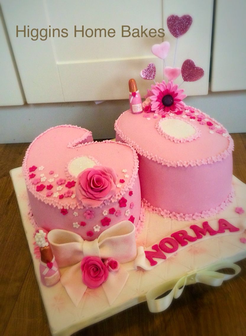 Female 60th Birthday Cake