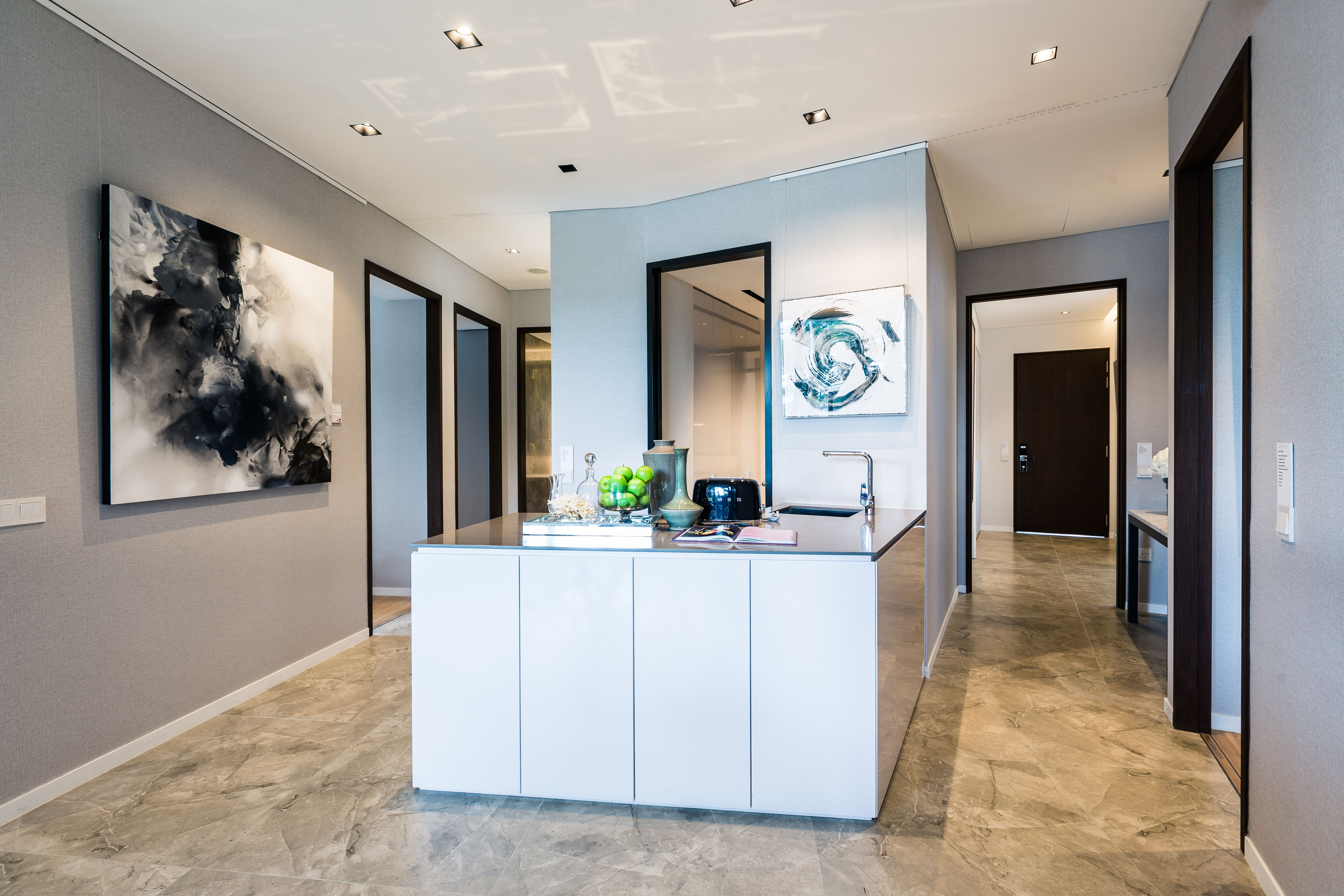 Kitchen for living in with hansgrohe focus Arta