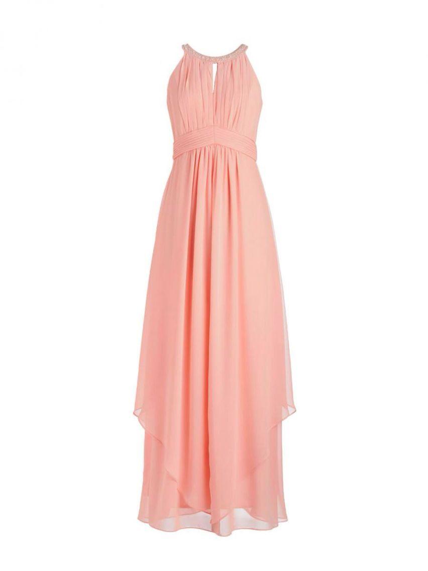 Beautiful salmon dress for Bridesmaids | Matri | Pinterest