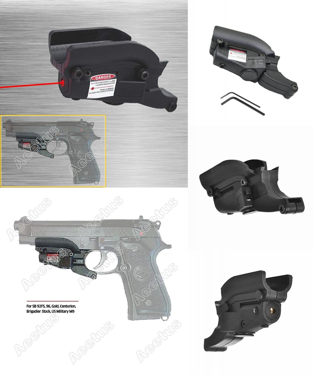 Visit to Buy] Red Laser Sight Device For M92 With Lateral Grooves