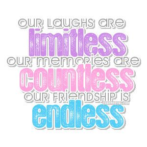 A Quote About Friendship Extraordinary Mikaylawe May Get In Fights But In The Endit Helps Us Build