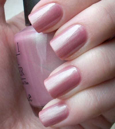 OPI Shanghai Shimmer | Bed of Nails | Opi nails, Pink nails, Nails