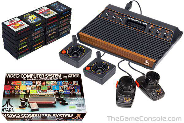 Atari 2600 Vcs Top 10 Video Games Vintage Video Games Video Game Console