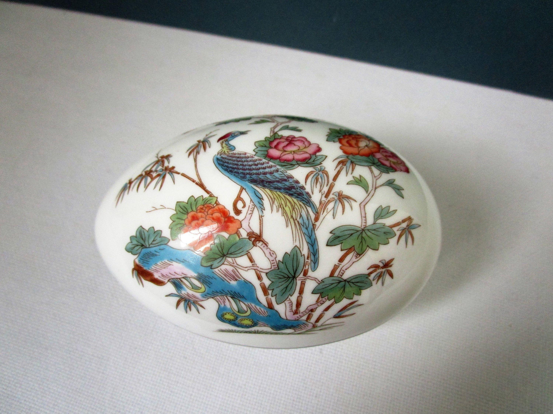 Vintage Wedgwood Egg Trinket Pot