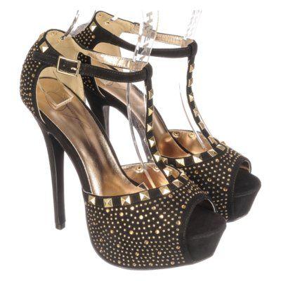 jenni rivera women's studded platform heel jacklyn128