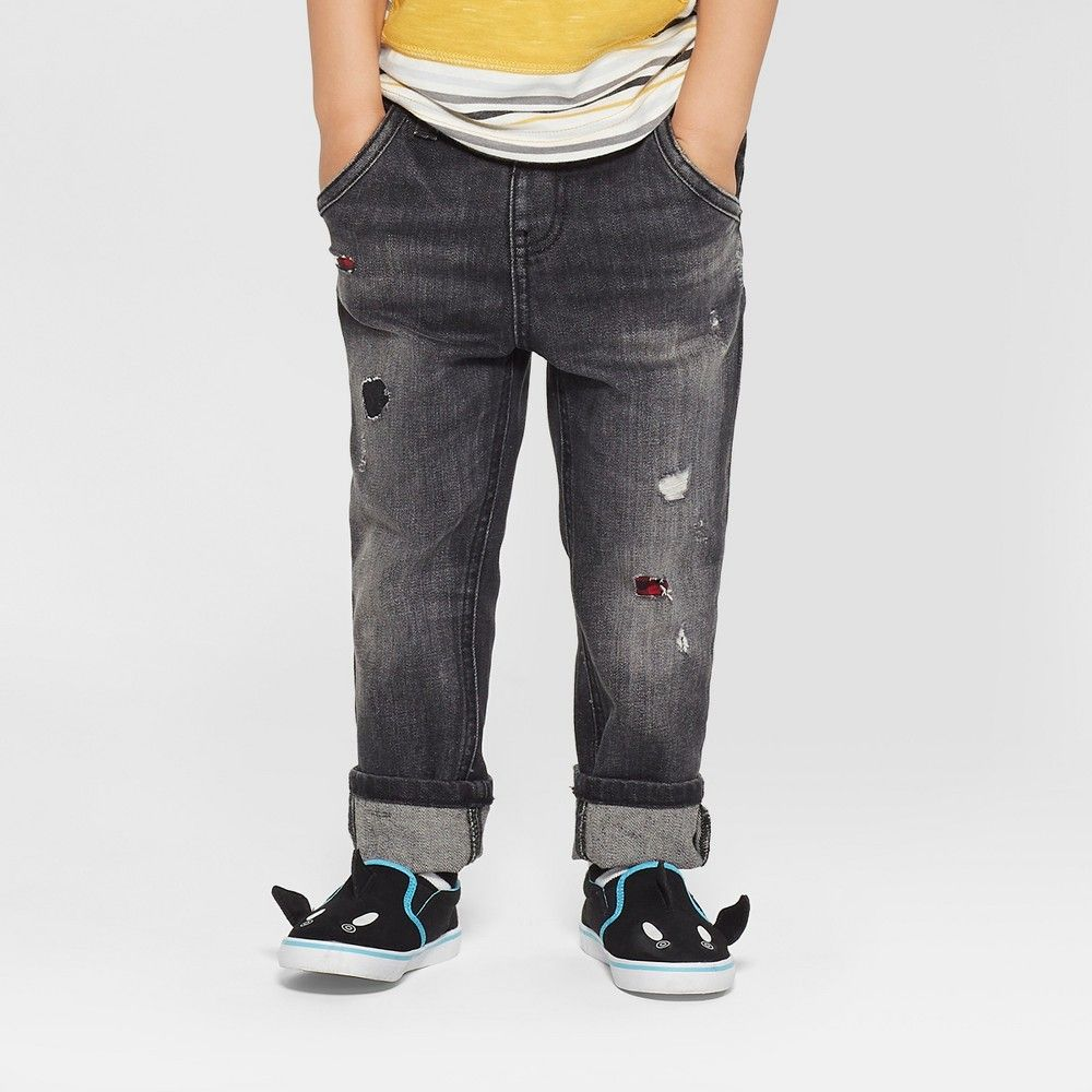 2b3d72848c7 Toddler Boys  Genuine Kids from OshKosh Skinny Jeans - Black 12 M ...