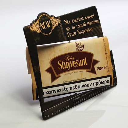 Shelf edge point of purchase displays really helps your products stand out from the competitio,  Shelf Banner | Talker | Wobbler, innovative packaging, packaging ideas, designs, pop tobacco, prince, wobbler, wobbler ideas
