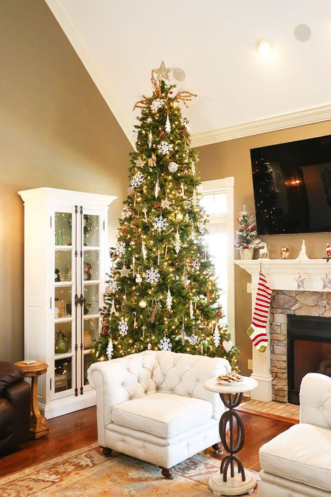 our christmas home tour | christmas entertaining and decorating