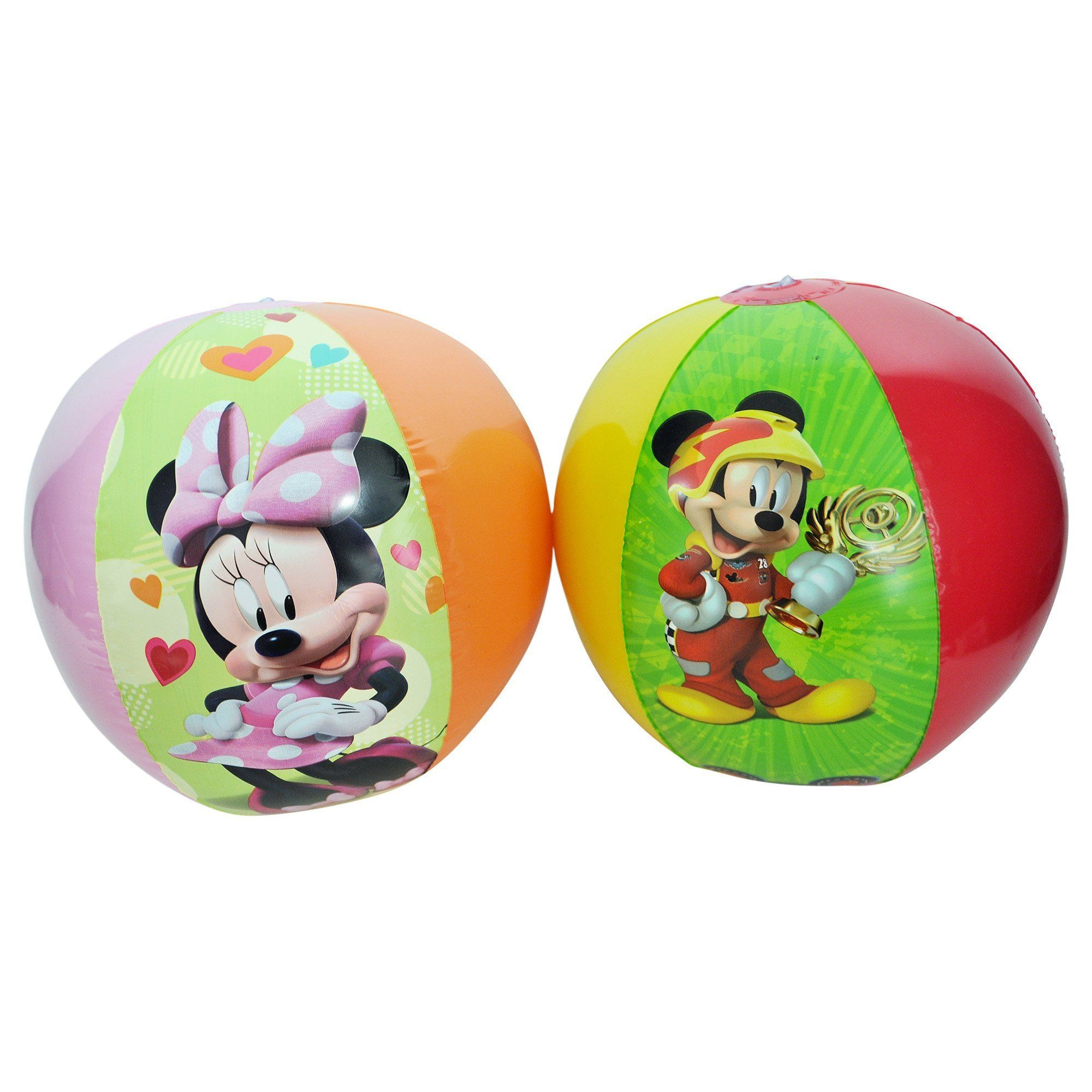 73f6d3571fec Disney Mickey   Minnie Mouse Beach Ball 2 Pack