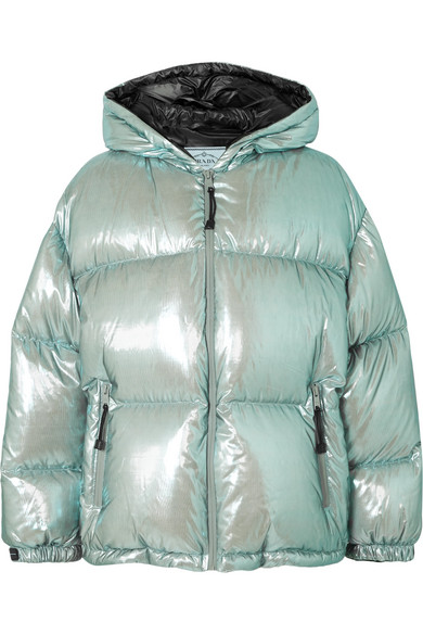 8dfbc94cce Prada - Oversized quilted metallic shell down jacket in 2019 ...
