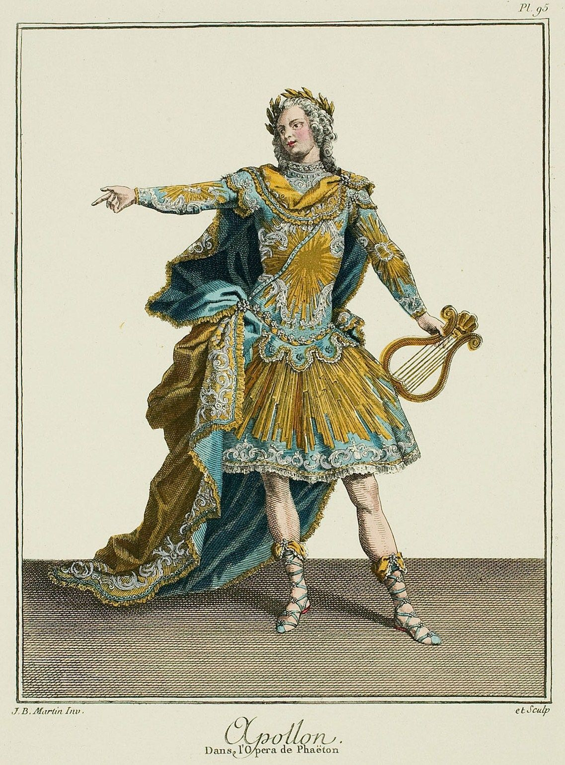Apollon from the opera of phaeton 1779 france ancien rgime apollon from the opera of phaeton 1779 fandeluxe Images