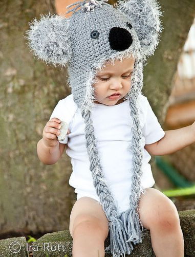 c66697b9131 Crochet cuteness by Ira Rott Crochet Animal Hats