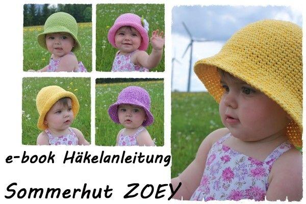 Sommer Hut Kinder Hut Selber Häkeln Perfekter Sonnen Schutz
