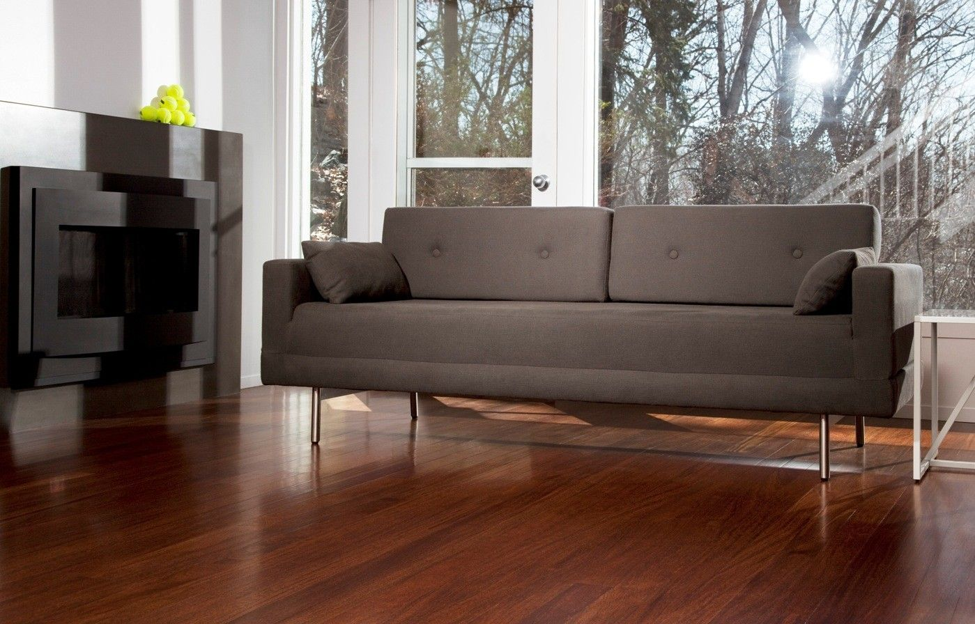 Modern sofa one night stand sleeper sofa by blu dot the home