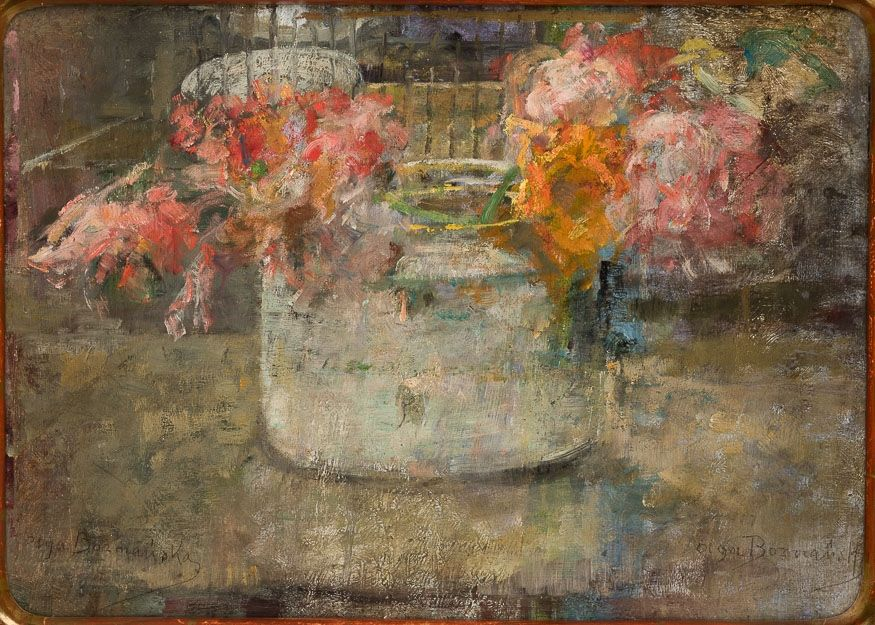 Muzeum Narodowe W Krakowie Painting Olga Boznanska Life Art