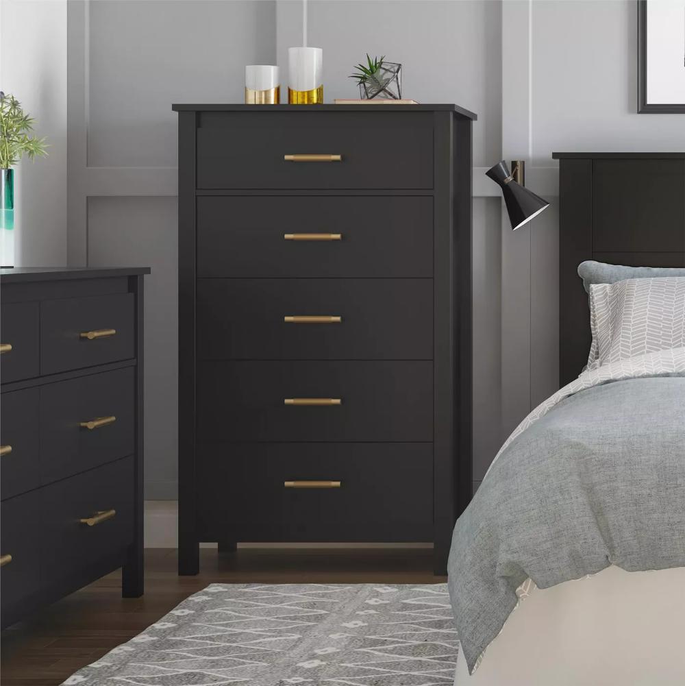 5 Drawer Springwood Dresser Room Joy Target Grey Bedroom Furniture Dresser Drawers Dresser As Nightstand [ 1001 x 1000 Pixel ]