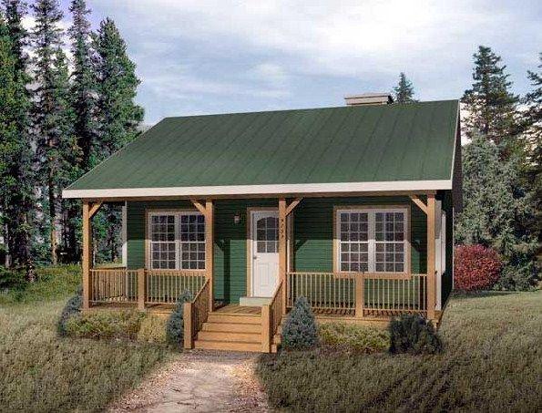 Casa de campo sencilla casa sofia casas peque as for Planos de cabanas campestres