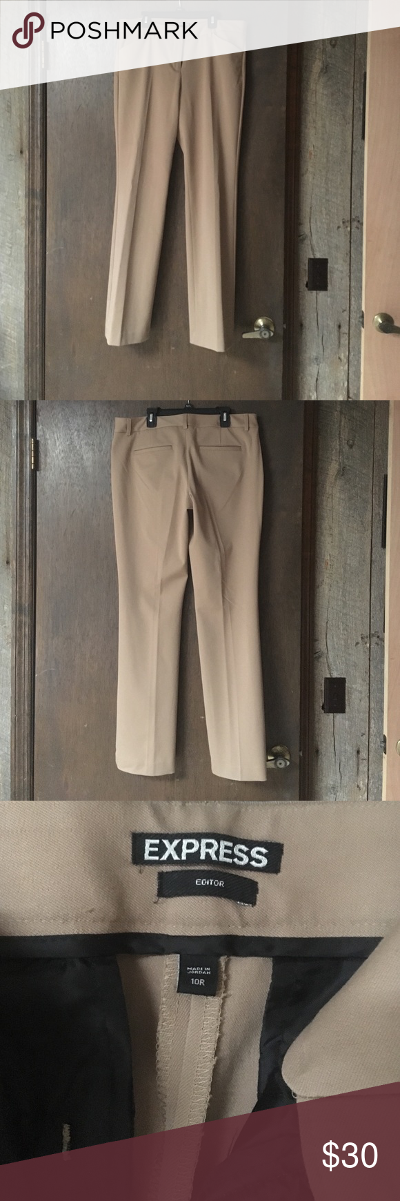 Express Editor dress pants Excellent condition. Worn twice. 32.5 inseam. Express Pants Straight Leg
