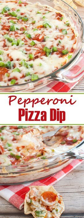 Photo of Pepperoni Pizza Dip