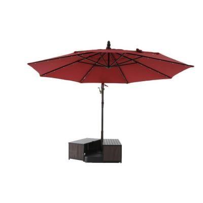 Hampton Bay 3 In 1 Patio Umbrella Base Cover Fqs80039 The Home