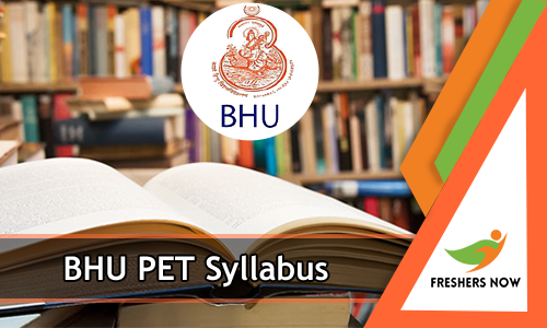 Bhu Pet Syllabus Syllabus Graduation Post Pets