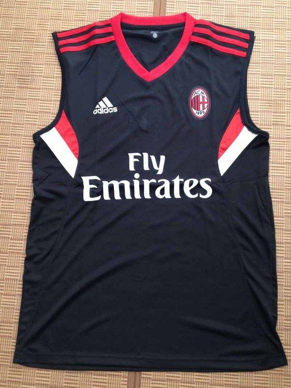 Camiseta entrenamiento sin mangas Milan  1f1d17b40e5
