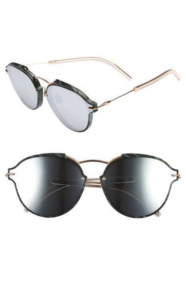 ebc6d8b9988 Dior Eclats 60mm Sunglasses grey   rose gold at  Nordstrom