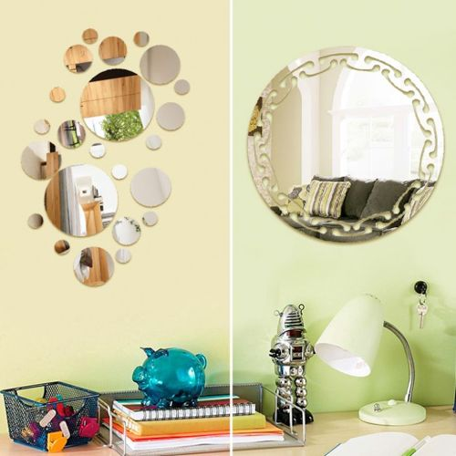 Be it your living area or your bedroom, these decorative mirror ...