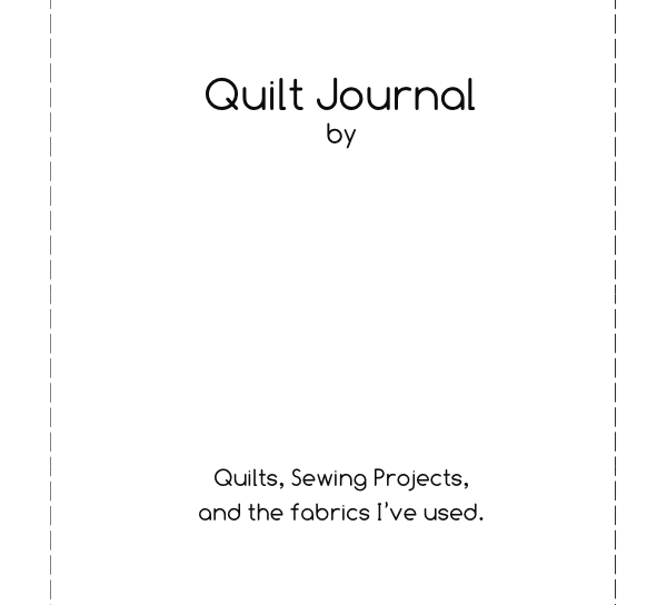 From Blank Pages Quilt Journal Quilt Planner Quilting Organization Quilts