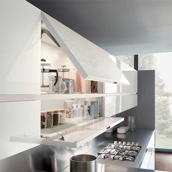 Italian Modern Design Kitchens - Elektra by Ernestomeda decoração - ernestomeda barrique