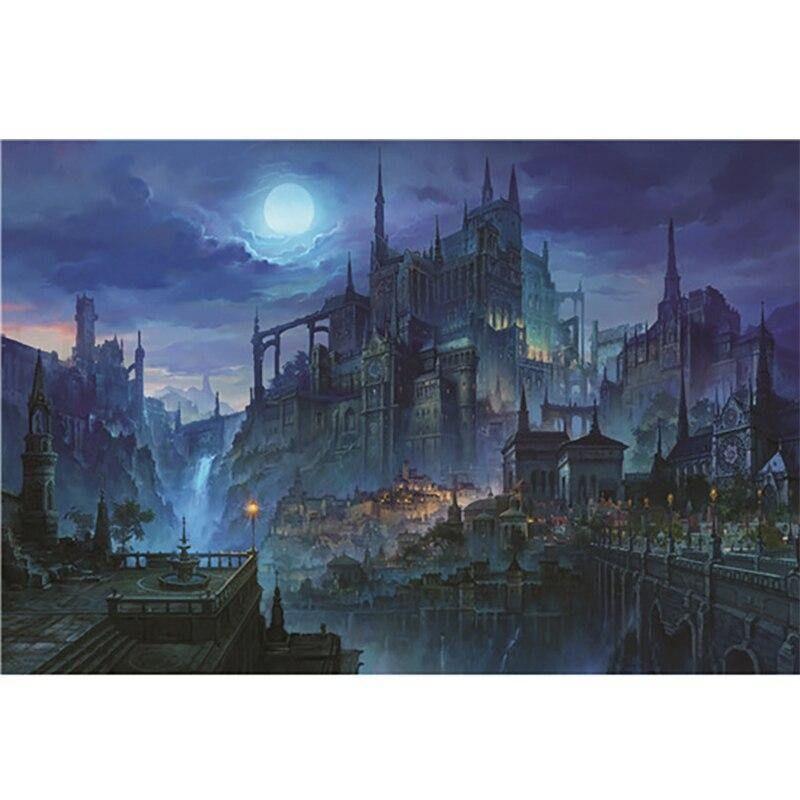 Photo of 1000 Pieces Dark Castle Jigsaw Puzzle – Dark castle
