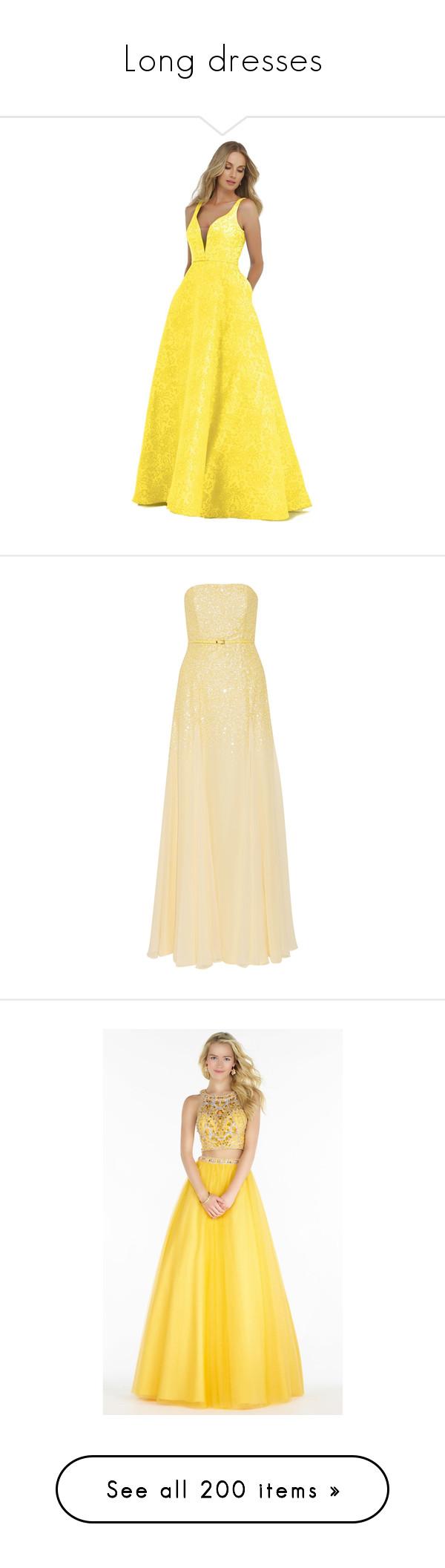 Long dresses