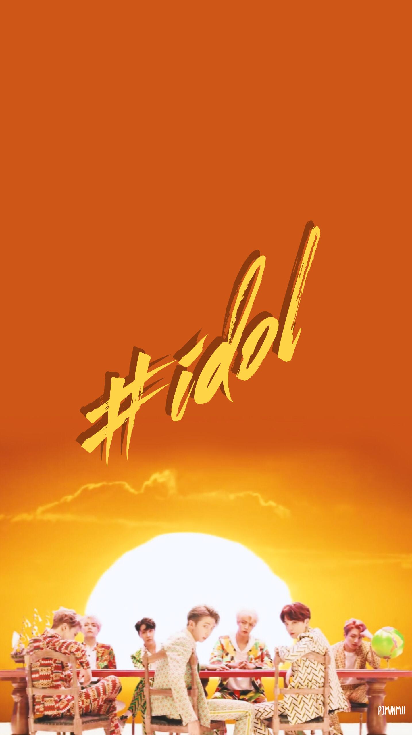 Unduh 900 Wallpaper Bts Idol  Gratis