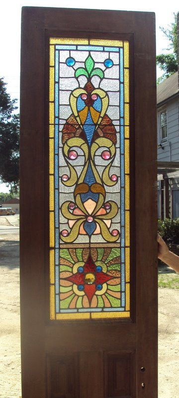 Stained Glass Door Stained Glass Door Glass Door Stained Glass
