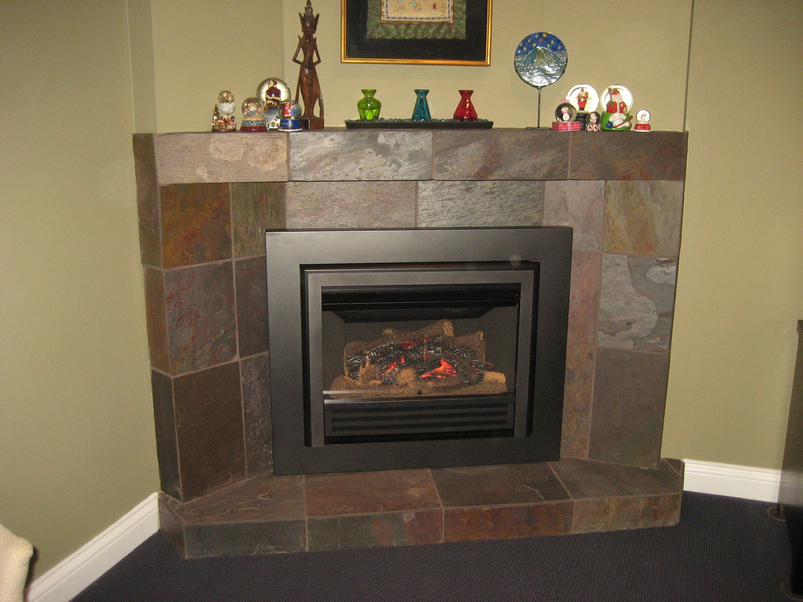 valor legend g3 739jln gas fireplace insert installed in corner