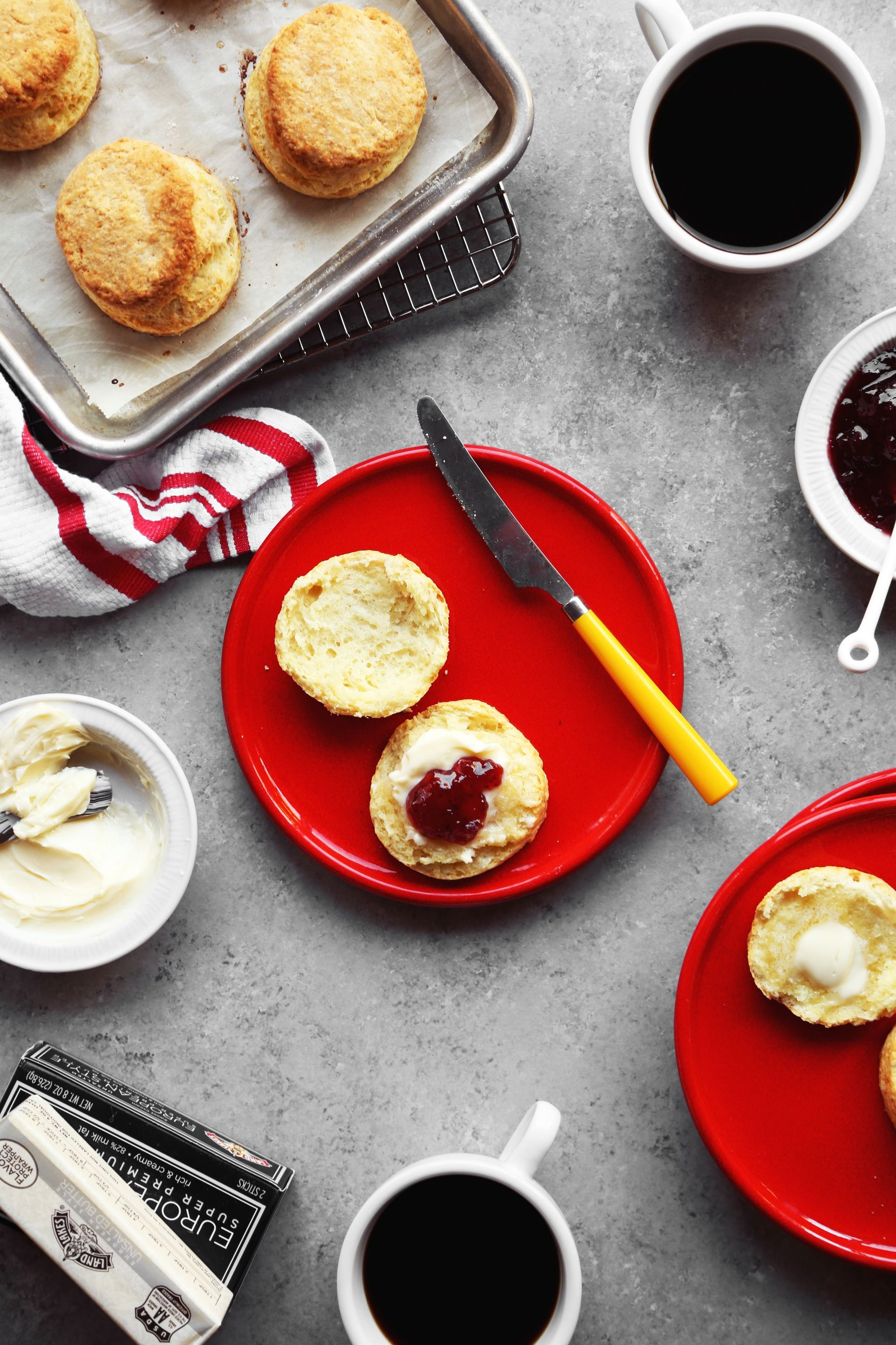 Buttery Layered Buttermilk Biscuits Joy The Baker Recipe Biscuit Recipe Joy The Baker Food