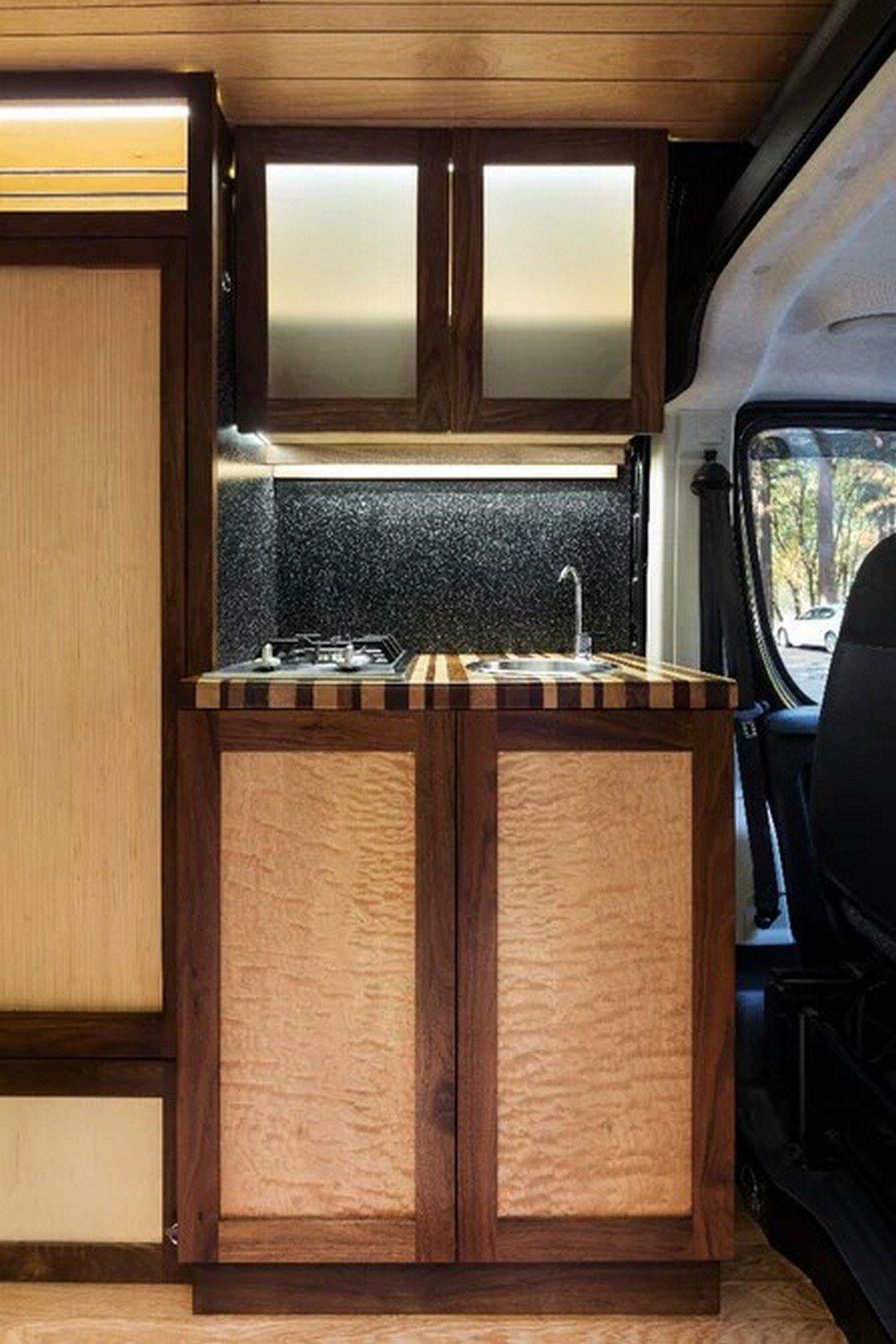 Custom Rv Camper Van Stealth Conversion 21 Van