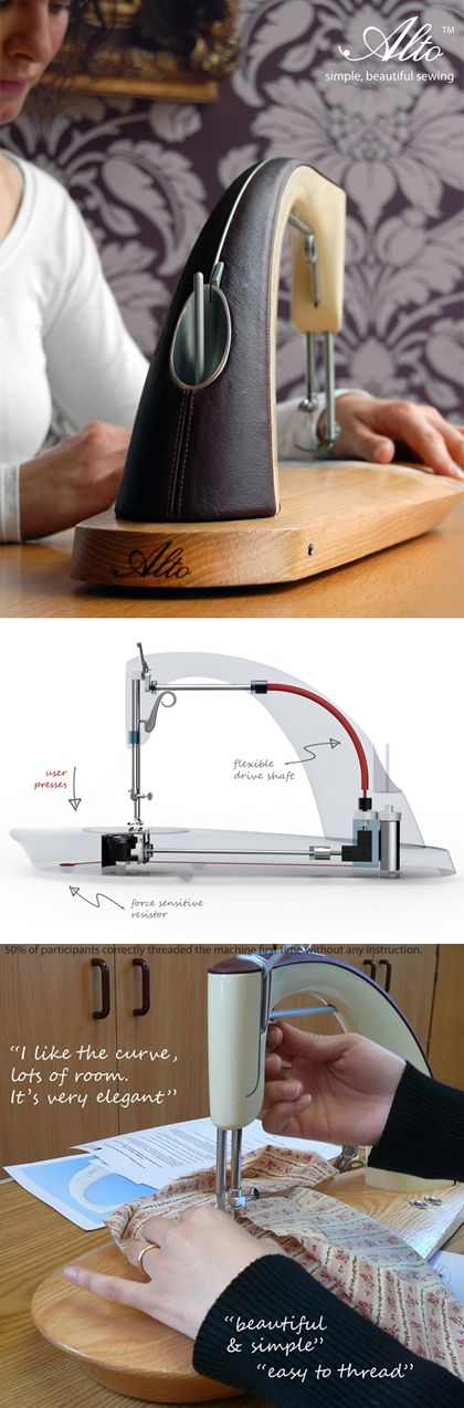 The Sewing Machine Reinvented