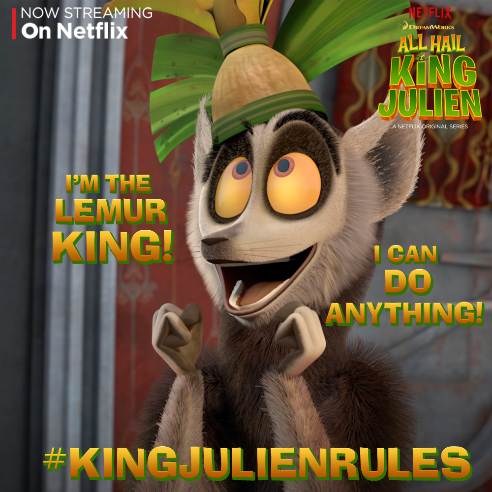 As King Julien Makes All The Rules Tell Us What Rules You Would