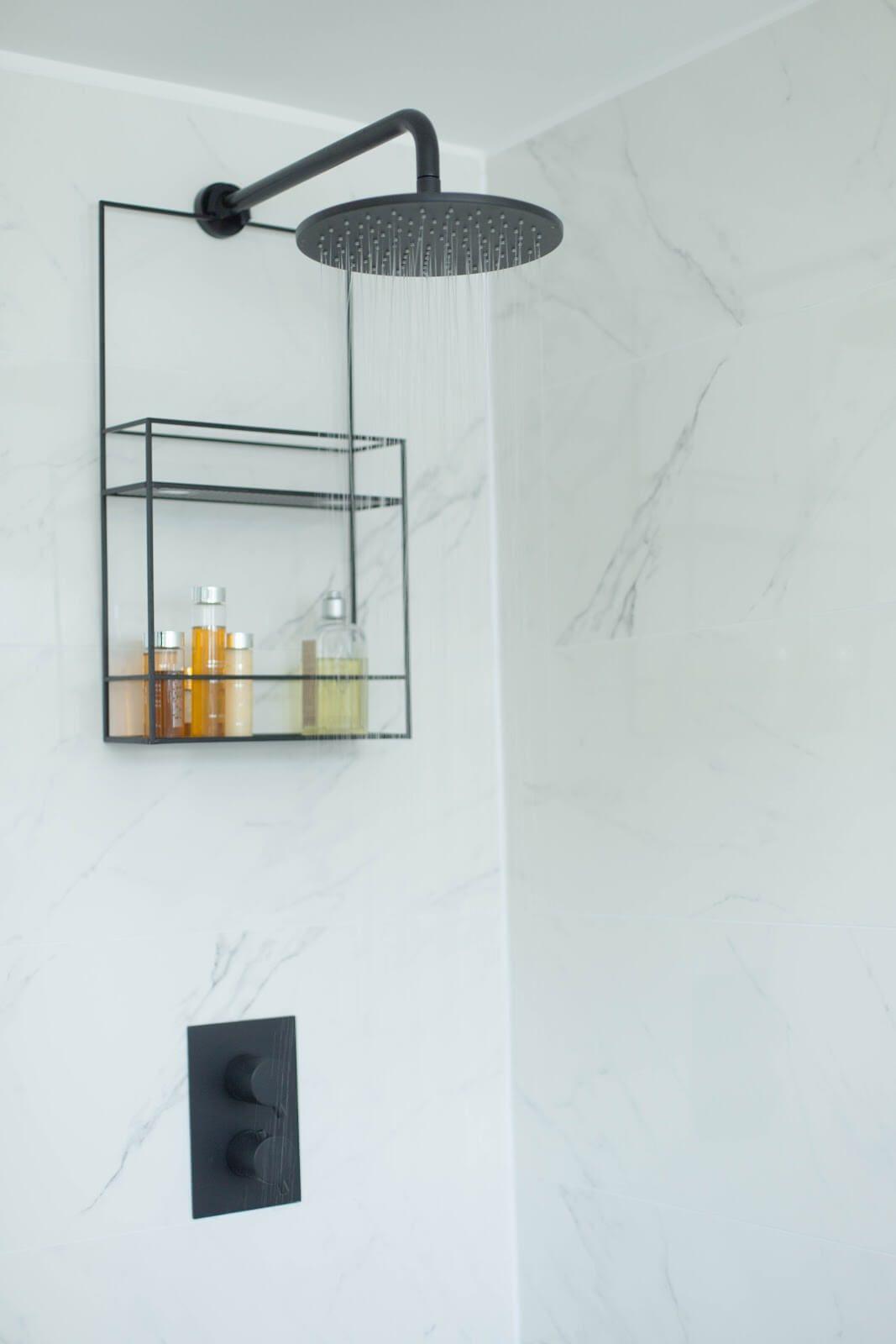 Elegant And Minimalistic Wall Caddy In 2020 Monochrome Bathroom