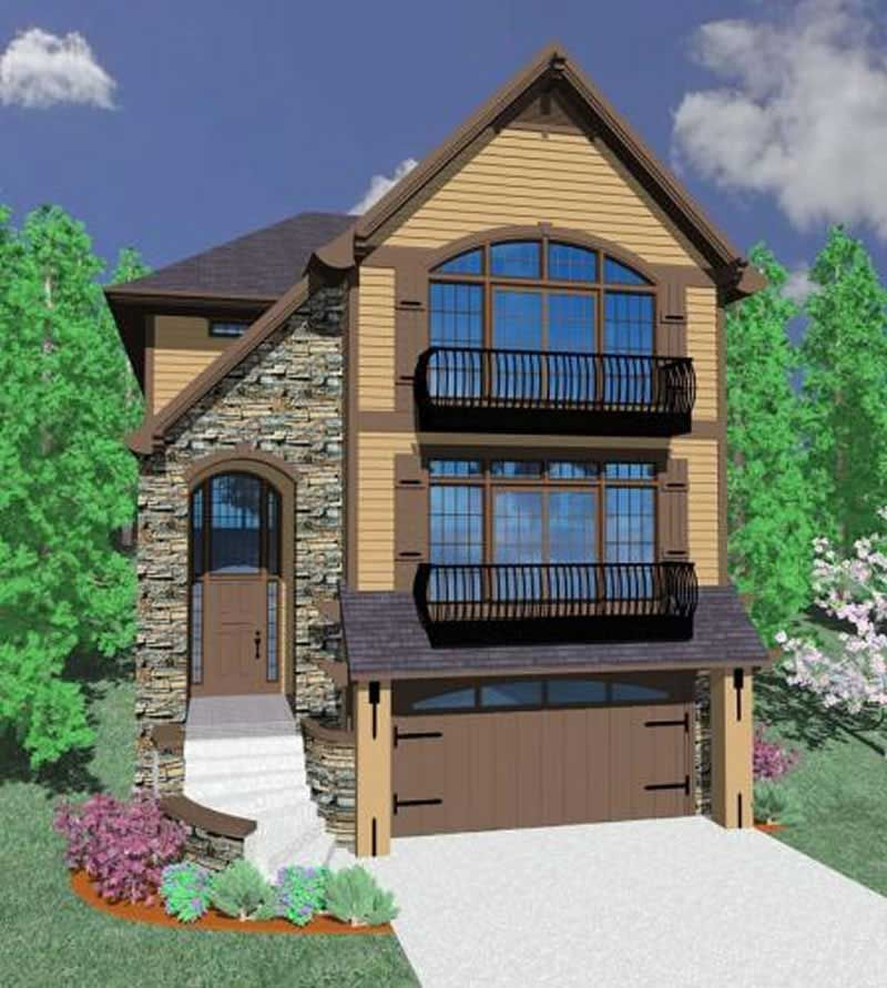 Main image for house plan 16691