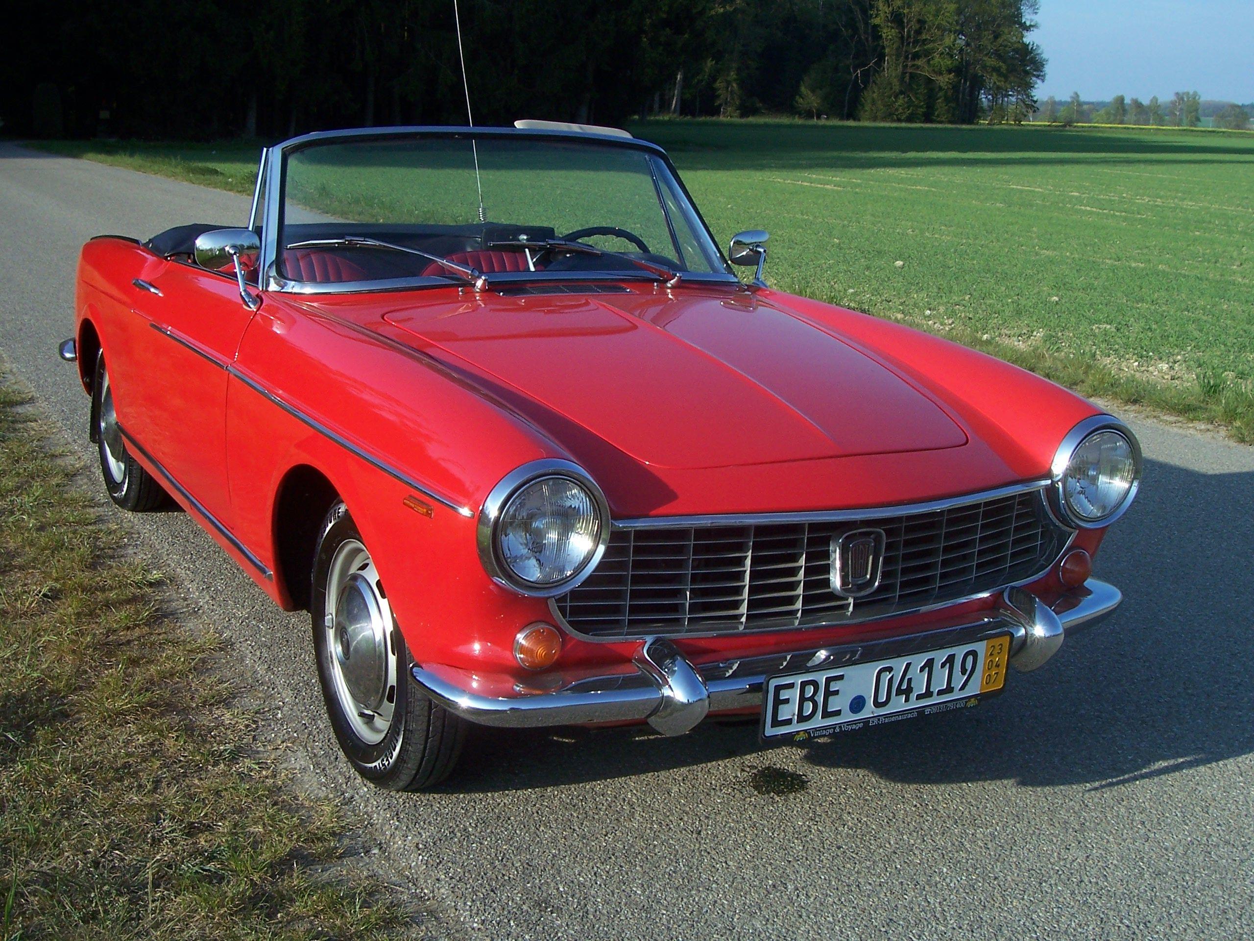 Fiat 1500 Cabriolet 1963 (2560×1920) | Classic cars | Pinterest ...